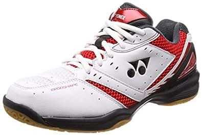 Yonex 尤尼克斯 羽毛球鞋 动力缓冲鞋垫 650 SHB650 レッド/ブラック (053) 22.0 cm