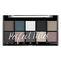 NYX Professional Makeup 眼影盤,Perfect Filter Shadow Palette,10款眼影色調,Gloomy Days 04,17,7克
