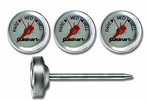 Cuisinart 户外蒸汽温度计 — 一套 4 个 Stainless 4 件