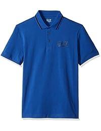 EA7 Emporio Armani Active 男式拖尾弹力马球衫