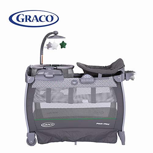 GRACO 葛莱 多功能儿童床 便携儿童游戏床带星星挂件 移动尿布更换台 1922172