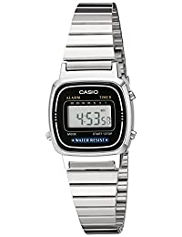 卡西欧(Casio) LA670WA-1每日闹钟女款数位电子表