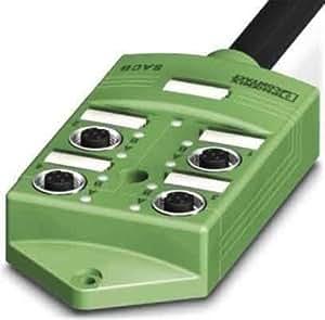 Phoenix 1517204 – 盒子 传感器/切换因子 sacb-4/8 – 5.0 hpur SCO