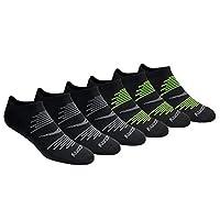 Saucony 圣康尼 男式 6双装 网眼透气舒适贴合功能性短袜