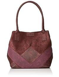 TOM TAILOR 女士购物袋 Miri Geo,17.5x28x43 厘米,女士包