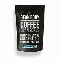 英国Bean Body 椰子咖啡豆身体磨砂220g Coconut Coffee Bean Scrub 220g