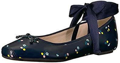 Cole Haan Downtown 女士芭蕾平底鞋 *蓝(Navy Floral) 5 M US