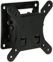 Mount-It! Tilt TV 壁掛支架 4.7cm 低調設計帶快速釋放功能,符合 VESA 75 和 VESA 100,鋼材適合 81.28 cm 電視 30 磅承載能力,黑色