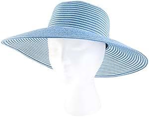 Sloggers - 女式宽边编织遮阳帽带风绳 - 额定紫外线防护系数50+ *大*保护 4404BL