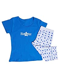 Rockstar T 恤 Capri Set 蓝色