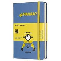 Moleskine 《小黄人》口袋型横线笔记本 (蓝色)