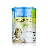 Bellamy's 澳洲 贝拉米 有机婴幼儿牛奶粉3段(12-36个月适用) 900g* 6罐装 [跨境自营]包邮包税