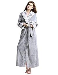 女式浴袍长毛绒柔软温暖羊毛浴袍睡衣穿衣睡袍