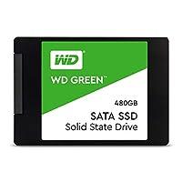 Western Digital Green 480GB内置式PC固态硬盘-SATA III 6 Gb / s,2.5英寸/ 7毫米-WDS480G2G0A
