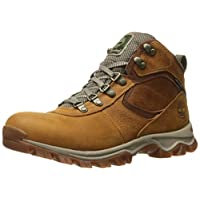 Timberland 男式 MT. maddsen MID 皮革 WP 冬季靴子