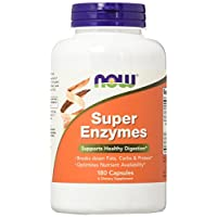 NOW Foods Super Enzymes-180 Capsules