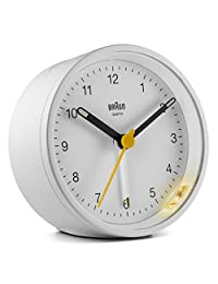Braun 博朗 经典模拟闹钟 – BC12W