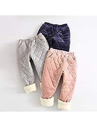 Naturhand 南禾 儿童棉裤 秋冬加绒加厚宝宝裤子 男女童保暖裤子 儿童运动裤 多色可选