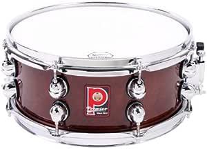 Premier Drums Heritage 系列 44525DW 1 件枫木 13x5.5 英寸 Snare 鼓,鼓套装(深核桃色)