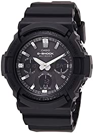 Casio G-Shock Men's Watch in Resin/Stainless Steel with Auto LED Light and Solar Power - Shock Resis