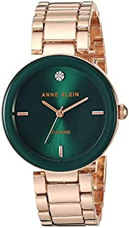 Anne Klein AK / 1362GNRG 女士石英金屬合金正裝手表