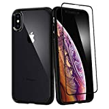 Spigen 超混合 360 设计,适用于 Apple iPhone Xs MAX 手机壳 (2018) - 变体父母065CS25132 黑色