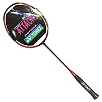YONEX 尤尼克斯 中性 羽毛球拍单拍天斧全碳素羽拍未穿线 ASTROX9 黑红(亚马逊自营商品, 由供应商配送)