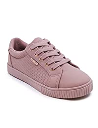 Nautica 女童 Missey 儿童时尚运动鞋低帮系带运动鞋(小童/大童)