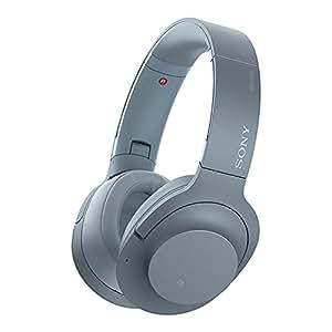 Sony 索尼 h.ear on 2 Wireless NC WH-H900N/LM Hi-Res无线降噪立体声耳机 月光蓝