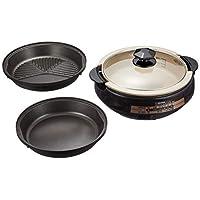 象印 烤盤(熱烤盤)3片型 嵌入式 棕色 EP-PX30AM-TA