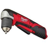 Bare-Tool Milwaukee 2415-20 M12 12 伏 0.95 厘米无绳直角钻/司机(仅水槽,无电池)