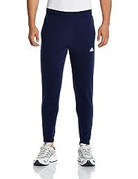 adidas 阿迪达斯 男式 运动型格 针织长裤 B47218