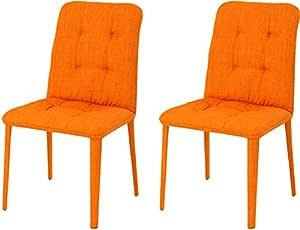 红豆工艺 布 椅子 宽度47cm 橙色 TDC-9587