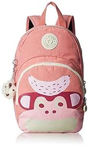 Kipling 大开眼界 女式 双肩背包 K7103120A00F 果粉色组合 310 * 200 * 130mm