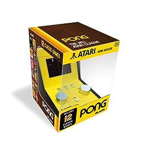 Atari Pong 迷你街机(带 5 个复古游戏)(电子游戏)