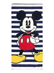 迪士尼米妮蝴蝶结圆点棉质毛巾