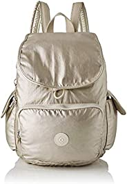 Kipling 凯浦林 City Pack 女士背包, Gold (Cloud Metal), 32x37x18.5 cm