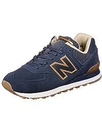 New Balance 男式 574v2 运动鞋 Blue Navy Soh 6.5 UK