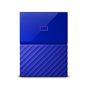 WD 4TB Blue USB 3.0 My Passport Portable External Hard Drive (WDBYFT0040BBL-WESN)