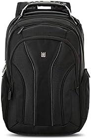LEVEL8 中性 苹果电脑包Apple官方选定款Apple Macbook pro/air电脑包双肩包背包 LA-1313 黑色 17寸