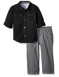 Calvin Klein 男孩梭织衬衫套装