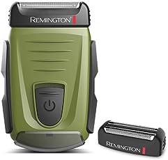 Remington 雷明登 电动剃须刀 USB充电 男士刮胡刀 三防系列 军绿 B110FX(送一个刀网)(进)