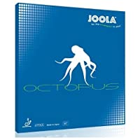 JOOLA Octopus Table Tennis Rubber (Red, 0.5-mm)