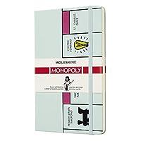 Moleskine 筆記本 - 大富翁主題 大號 A5規格 Blanko Large/A5