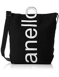 [ Anello ] 单肩包 コットンキャンバスロゴプリント 2Way 手提包 AU - S0061