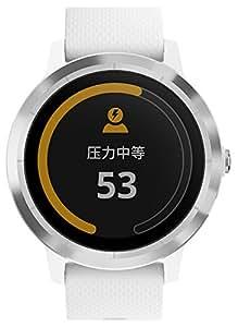 Garmin 佳明 vivoactive3 象牙白 光电心率GPS双星跑步骑行游泳运动触屏腕表 健康监测智能通知在线支付时尚情侣手表(表盘尺寸1.2'')