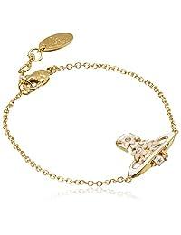 Vivienne Westwood AZALEABBL1583/1手链 金色/桃色/白色