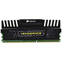 Corsair Vengeance 16GB (2x8GB) DDR3 1600 MHz (PC3 12800) 台式机内存CMZ16GX3M2A1600C10  16 Gb