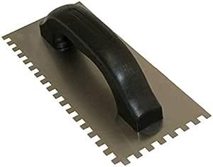 Kraft 工具 Hi Craft 方形凹槽铲,带 9 x 4 英寸钢刀片 1/16 x 1/16 x 1/16-Inch HC168P