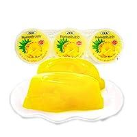 马来西亚原装进口果冻儿童果冻零食 (凤梨3连杯*2)
